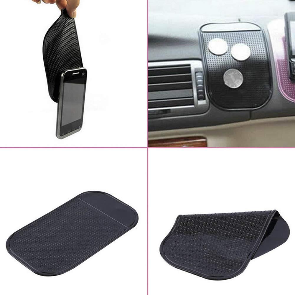 141x83x2mm Anti-Slip Mat 5Pcs Interior PU Magic Car Pad Dashboard Holder Universal Car Accessories for Cell Phone Sticky