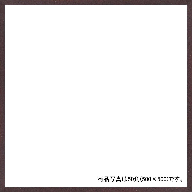 デッサン額、正方、桜平型 セピア 55角550×550 アクリル 受注生産 B01FCWYZBUブラウン 61×61×3.5cm