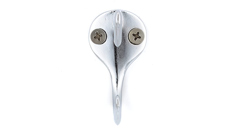 Richelieu BP74443140 Utility Metal Hook Chrome Finish