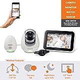Samsung Wisenet BabyView Monitor (SEW-3057W) w/ Wi-Fi Remote Viewing