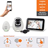 Amazon Price History for:Samsung Wisenet BabyView Monitor (SEW-3057W) w/ Wi-Fi Remote Viewing