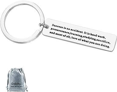 Sacrifice Key Chain White