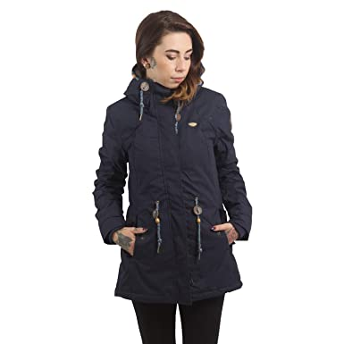Ragwear Damen Wintermantel Parka Monadis  Amazon.de  Bekleidung 4e0d424a75