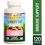 Host Defense - Turkey Tail Capsules, Mushroom Support for Immune Response, 120 Count (FFP)