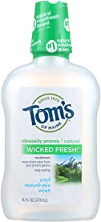 product image for Toms of Maine Mouthwash Wkdfrsh Mint Mn