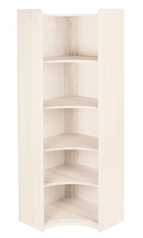 BioKinder 22226 Lara Regal Bücherregal Ecklösung aus Massivholz Erle 200 x 70 cm