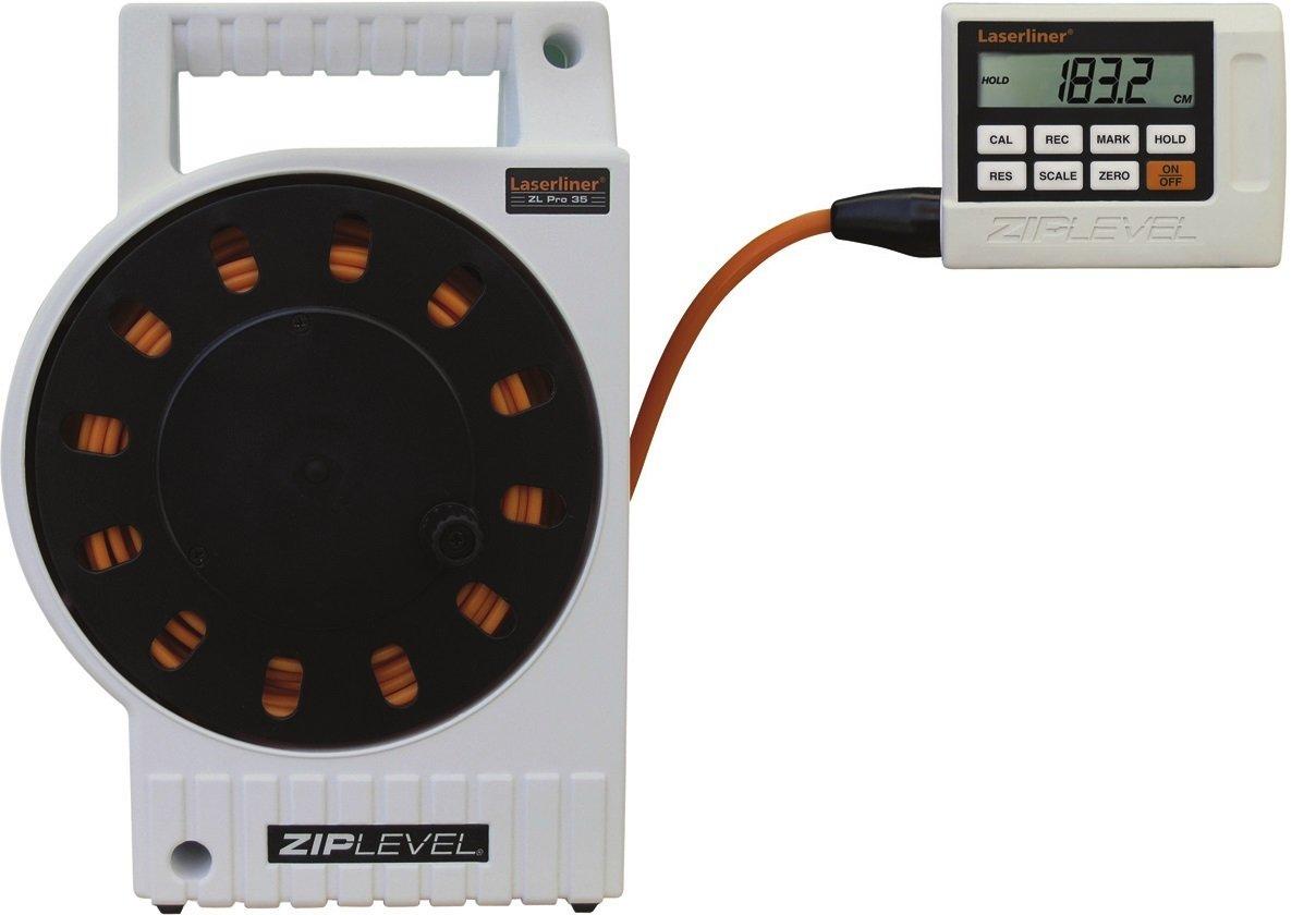 Laserliner entfernungsmesser ziplevel pro 35: amazon.de: baumarkt