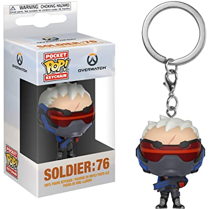 Amazon.com: Funko Soldier 76: Overwatch x Pocket POP! Mini ...