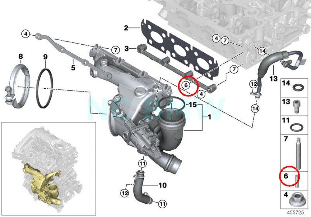 Amazon com: BMW Genuine Dowel Pin: Automotive