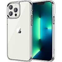 JETech Case Compatible with iPhone 13 Pro 6.1-Inch, Shockproof Bumper Cover, Anti-Scratch Clear Back, HD Clear
