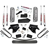 Rough Country - 470.20 - 6-inch Suspension Lift Kit w/ Premium N2.0 Shocks for Ford: 80-96 Bronco 4WD, 80-83 F100 4WD, 80-96 F150 4WD