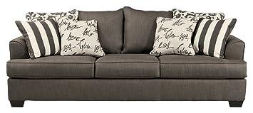Amazon.com: Ashley Furniture Signature Design - Levon Sofa ...