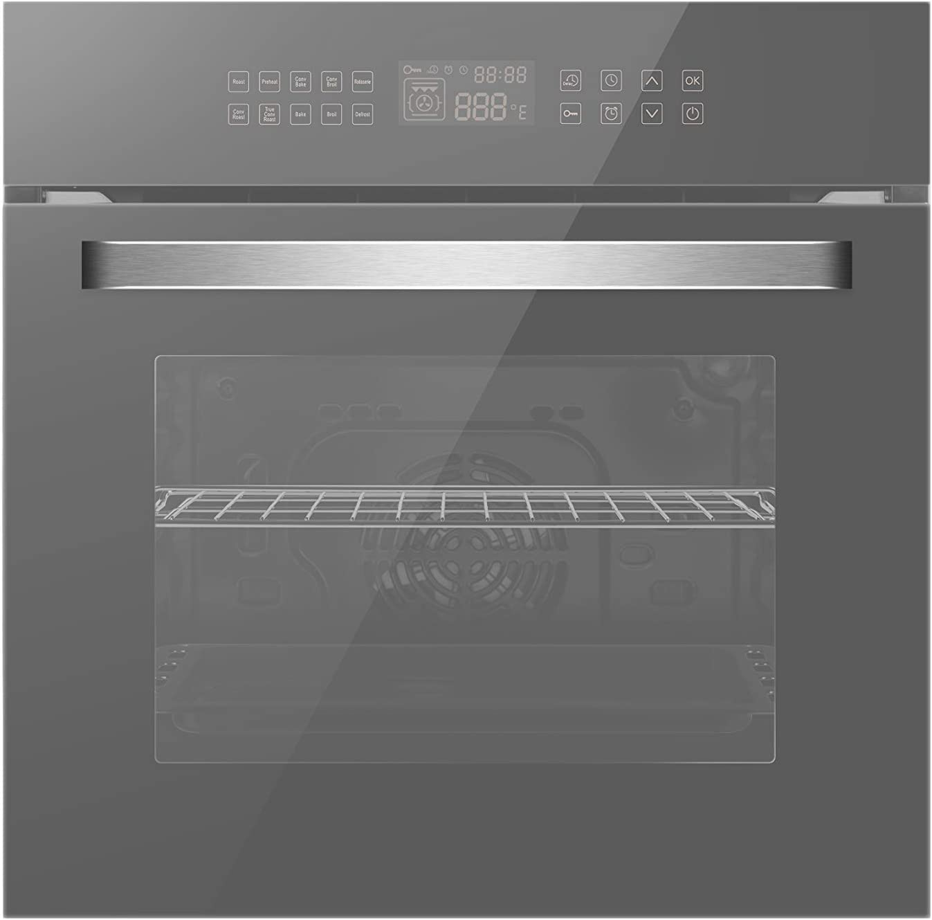 Empava 24'' Electric Convection Single Wall Oven