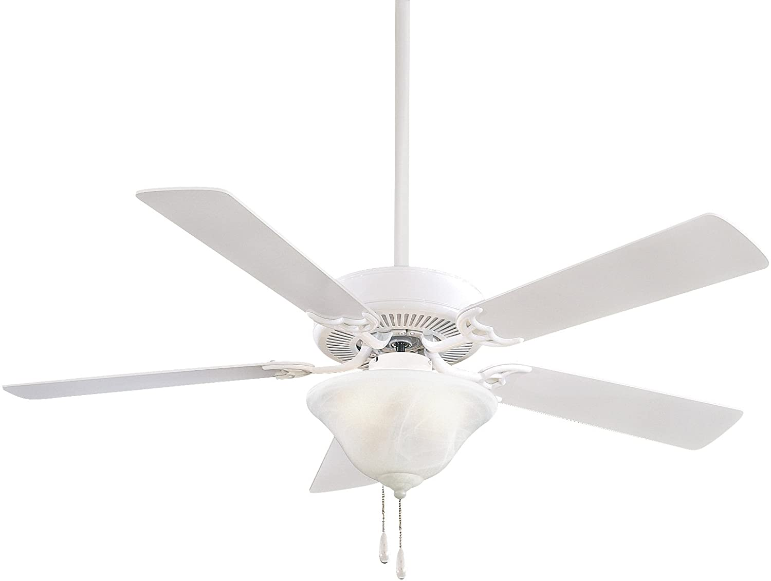 Minka-Aire F548-WH, Contractor Uni-Pack, 52 Ceiling Fan, White