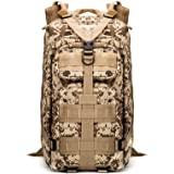 PandaGearX® 35L Molle 3 Day Assault Tactical Outdoor Military Rucksacks Backpack Camping Bag