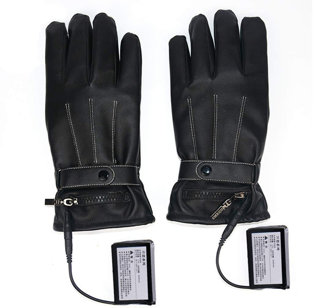 LIJUEZL Beheizte Handschuhe, Touchscreen Elektrische Heizhandschuhe, Winter Warme Sporthandschuhe Zum Skifahren Radfahren Motorradwandern