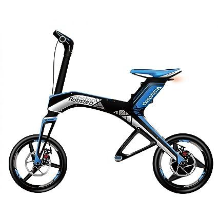 Amazon.com: Robstep, 1 bicicleta eléctrica plegable ...