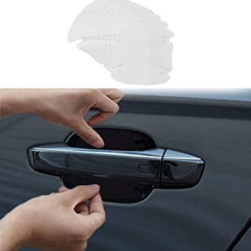 Car Door Handle Protector Invisible Film Auto Scratches Sticker Protective Cover