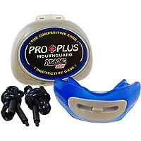 Brain Pad Pro Plus - Protector bucal deportivo con correas y estuche de almacenamiento