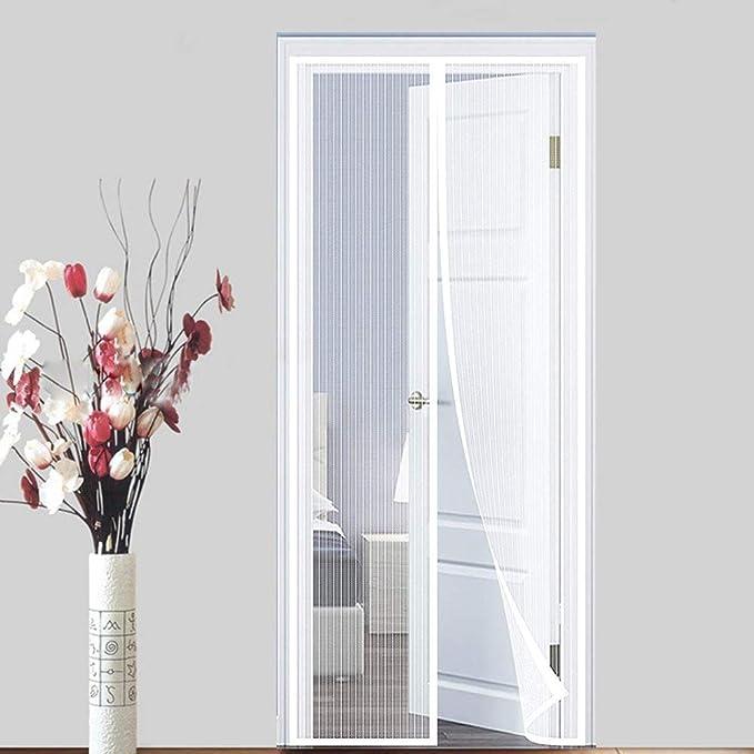 ALIFET Mosquitera magnética para Verano, Cortina de Malla Velcro Adhesiva para Puerta balcón Protección contra Insectos Manos Libres Mascota amigable,B,80 * 210(31 * 83in): Amazon.es: Hogar