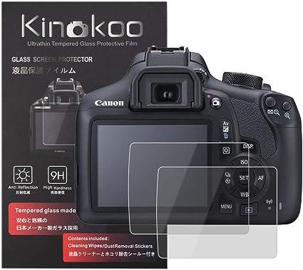 Kinokoo Gehärtetes Glas Für Canon Eos 1200d 1300d Kamera
