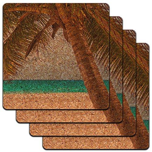 Tropical Ocean Beach Profile Coaster