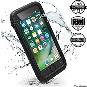 Catalyst Water Proof Shock Resistant Case for Apple iPhone 7 and iPhone 8 (Stealth Black)