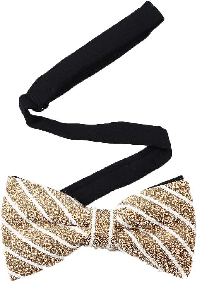 Siskey - Mariposa de moda para hombre, con lazo, ajustable, lazo y ...