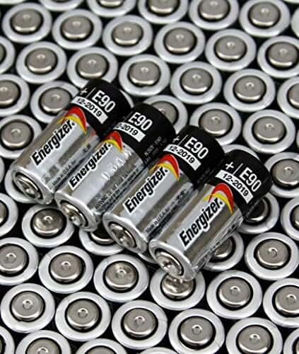 [4 pcs] Energizer E90 LR1 N Size, 1.5 Volt Alkaline Batteries