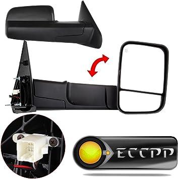 AM Left Driver Side DOOR MIRROR PLATE For Dodge Ram 3500,Ram 1500,Ram 2500