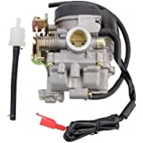GOOFIT Carburetor for 4 Stroke GY6 49cc 50cc Chinese Scooter Moped Taotao Kymco