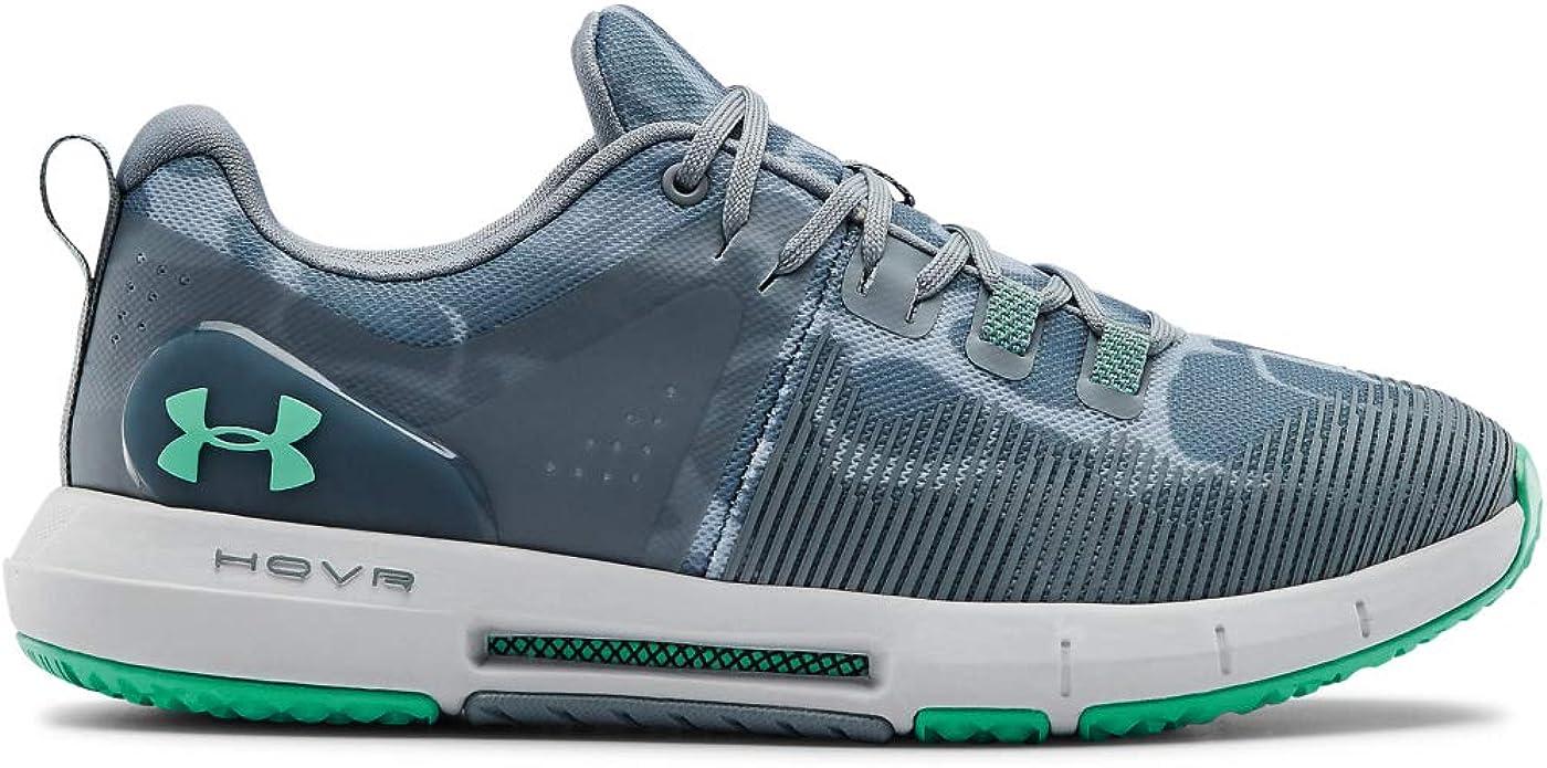 Under Armour HOVR Rise - Zapatillas de deporte para mujer, Azul (Turquesa (300)/Gris Halo), 41 EU: Amazon.es: Zapatos y complementos