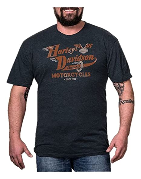 33dd75434d4 Harley-Davidson Men s Vintage Speed Racing Short Sleeve T-Shirt ...