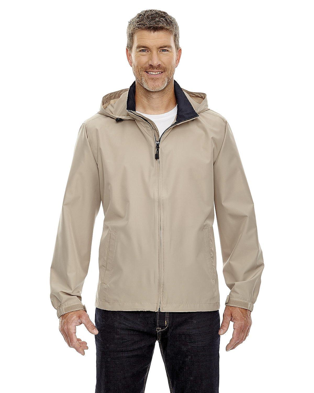 North End Mens Zipper Techno Lite Jacket
