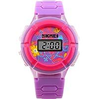 Skmei Casual Watch For Girls Digital Silicone - J1097