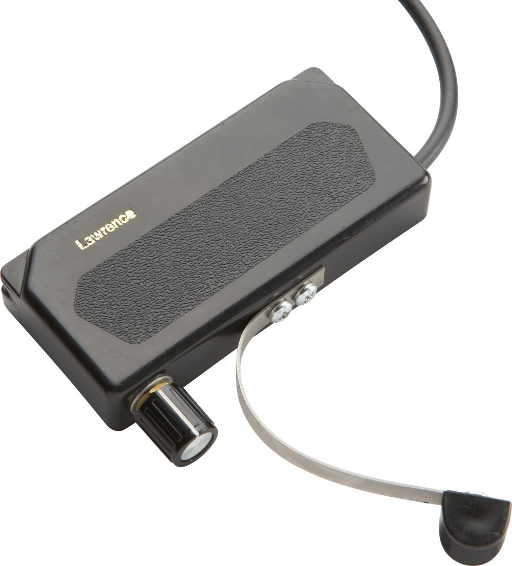 Bill Lawrence A245C Acoustic Guitar Soundhole Pickup Black