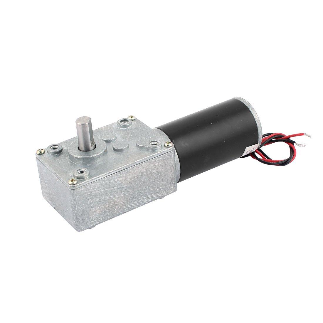 sourcingmap DC 12V 10RPM 8mmx14mm D-Form Schaft Elektrisch Strom Schnecken Getriebemotor de
