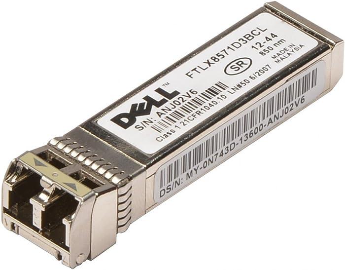 Dell N743D - Transceiver Finisar Ftlx8571D3Bcl 10Gbase-Sr/Sw; 10Gbps Fc Fibre Channel; Sfp+ Short Wavelength; 850Nm