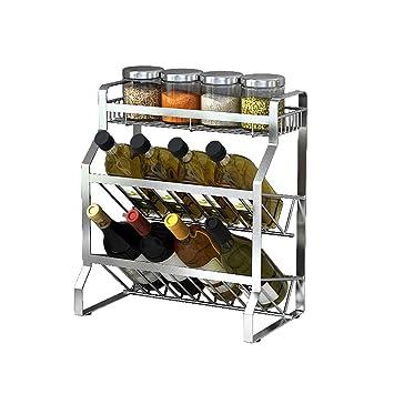 ZZHF yushizhiwujia Küche Regale/Boden Stand/platzsparend / Seasoning ...