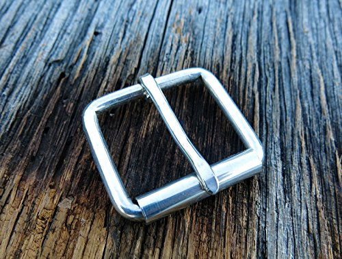 25mm Sterling Silver Belt Buckle by TheSterlingBuckle