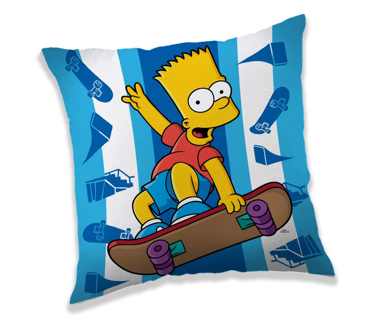 Jerry Fabrics 18CS012 Simpsons polštá?ek Bart skahttps://amzn.to/2BSTd5D