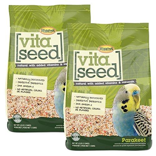 Higgins Vita Seed Parakeet Food ()