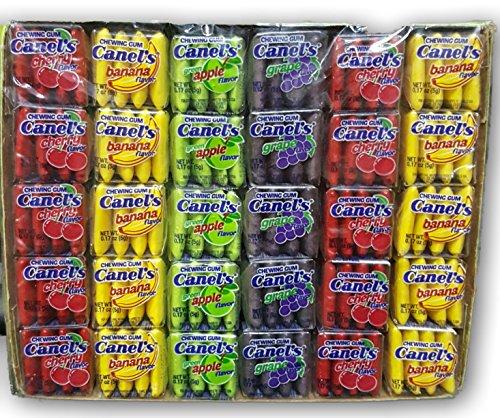Canels Gum Box 4-pack Fruit 240 Count (4packs)