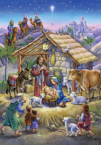 [해외]Vermont Christmas Company Peaceful Prince Advent Calendar / Vermont Christmas Company Peaceful Prince Advent Calendar