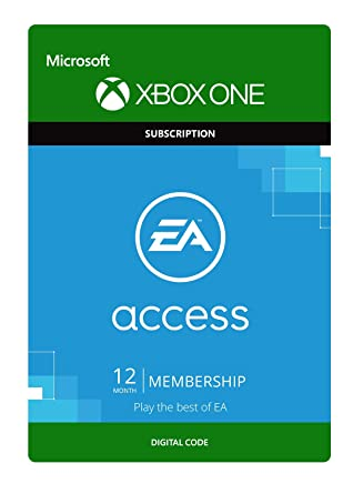 EA Access - 1 Year Membership [Xbox One - Download Code]: Amazon co