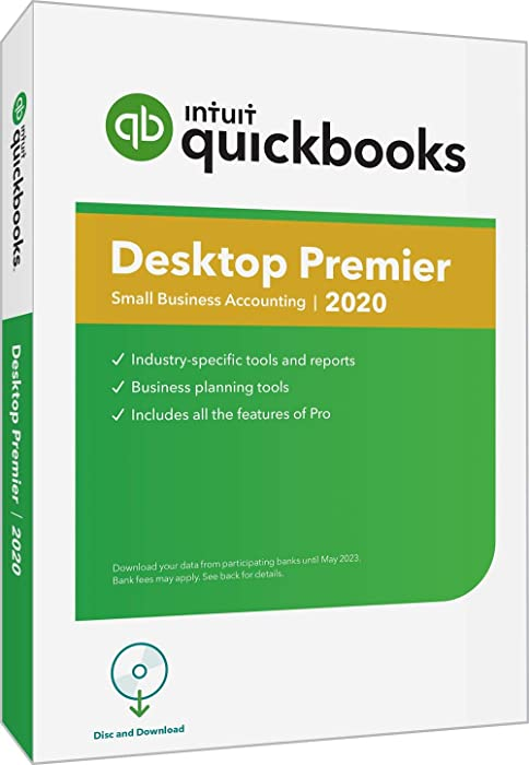 Top 10 Quickbooks Premier Desktop 2020