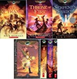 The Kane Chronicles Paperback Box Set : Includes The Red Pyramid, The Throne of Fire, and The Serpent's Shadow in a sturdy slipcase, plus an amulet necklace. (The Kane Chronicles)