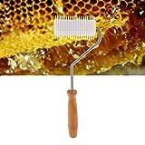 Beekeeping Bee Comb,Plastic Uncapping Needle Roller Extracting Bee Honey Comb Equipment Perfect Tool