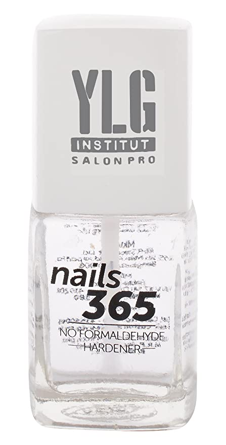 Buy YLG Nails 365 Formaldehyde Free Hardener Nail Care, White, 9ml ...
