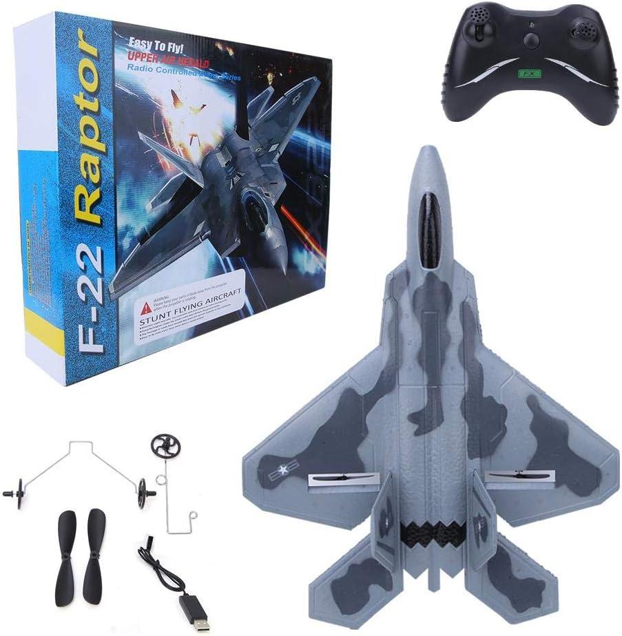 RC Aviones FX-822 Simulation Glider EPP Airplane RC Remote Control Airplane Plane Model Toy Ready to Fly RC Planes para Adultos Cargador USB